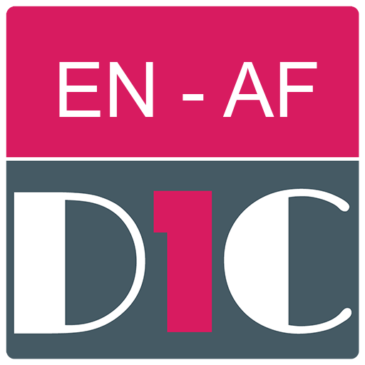 English - Afrikaans Dictionary (Dic1) icon