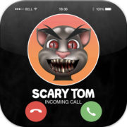 Talking With Tom- Talking Scary Tom Call Simulator Apk by AppsKungFu