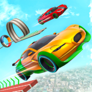 Electric Car Stunt Games: Ramp Stunt Car Games Apk by Branches Studio