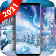 Winter Snow Live Wallpaper & Launcher Themes Apk by 4K HD Wallpapers 2021