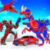 Flying Dino Robot Transforming Game 2021 icon