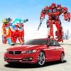 Robot Bear Car Transform transformation Robot Game icon
