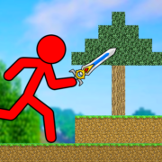 Red Stickman – Animation Parkour Fighter Apk by Remy Games